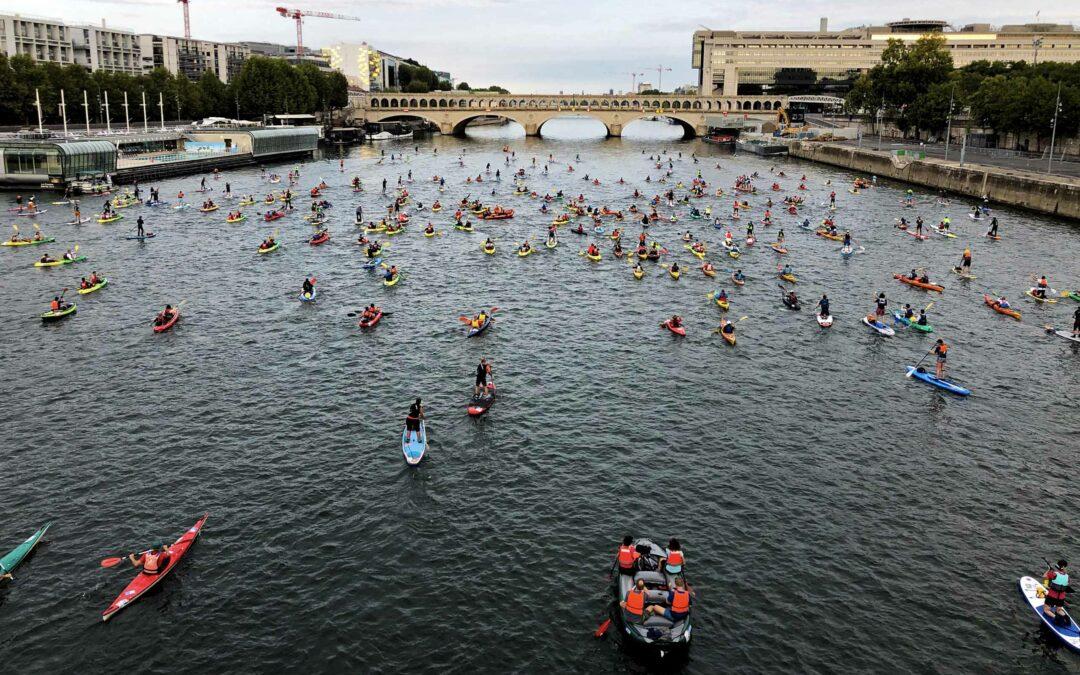 Embouteillage sur la Seine