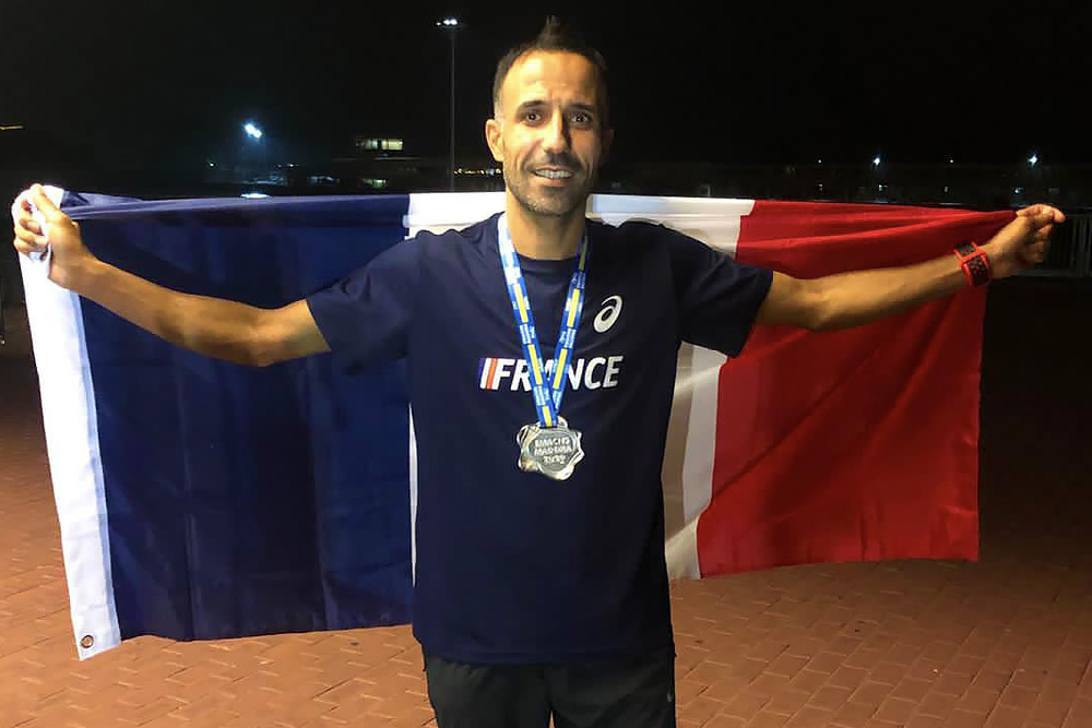 Charaf Mouelhi, vice-champion d'Europe