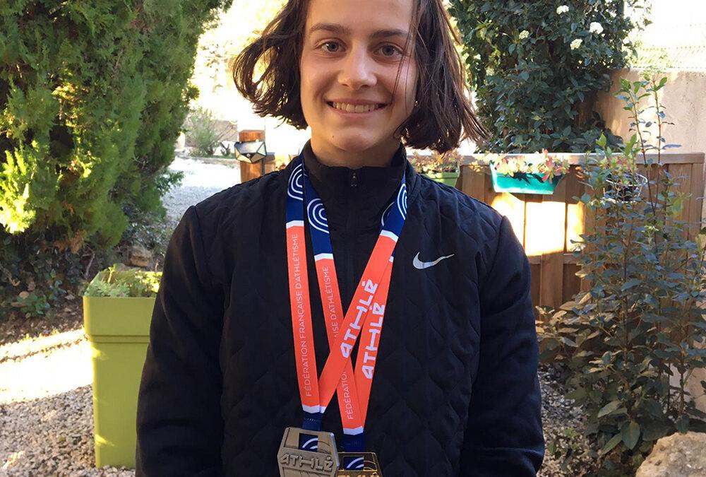 Manon Trapp, championne de France