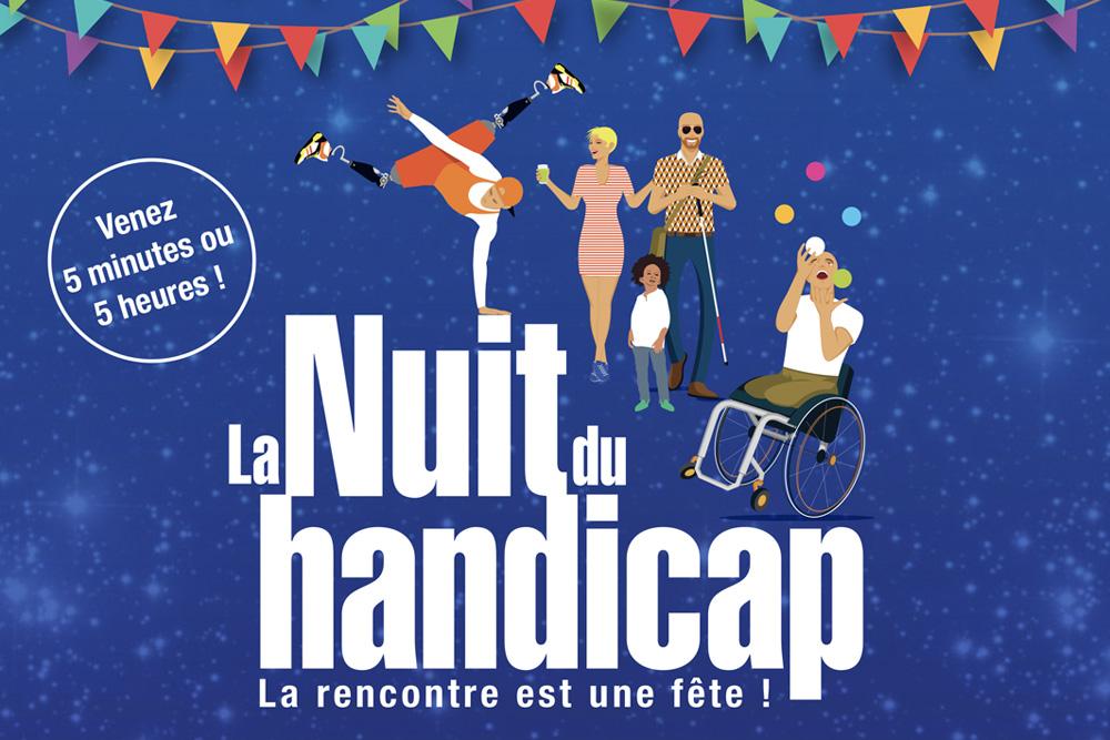 Nuit du handicap, samedi prochain