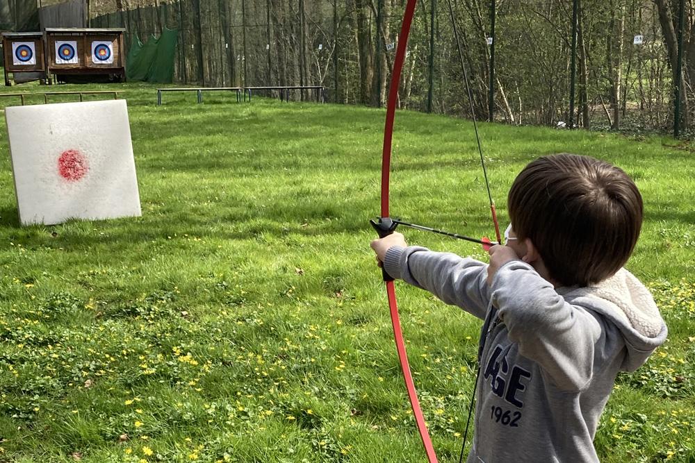 Le tir à l'arc dès 8 ans !