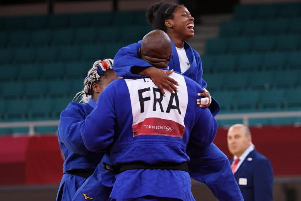 L'or olympique pour Sarah-Léonie Cysique